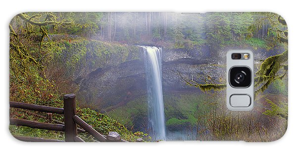 Hiking Trails At Silver Falls State Park Galaxy Case