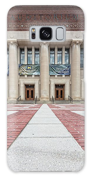 Hill Auditorium U Of M Galaxy Case