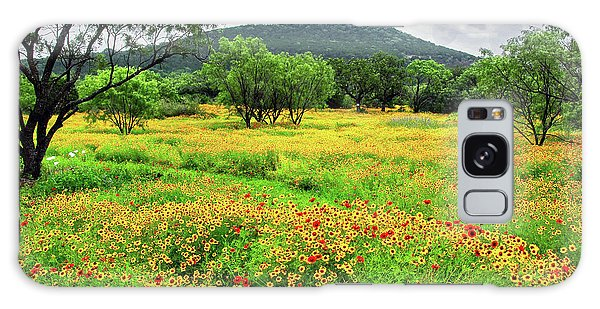Hill Country Wildflowers Galaxy Case