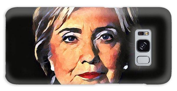 Hillary Clinton Galaxy S8 Case - Hillary Clinton by Dan Sproul