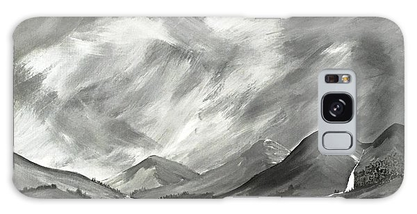 Hills And Heather  Galaxy Case by Scott Wilmot