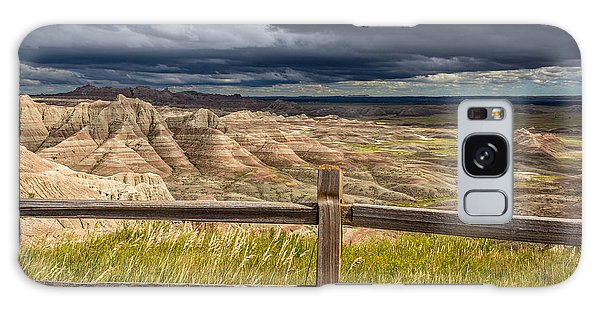 Hills Behind The Fence Galaxy Case