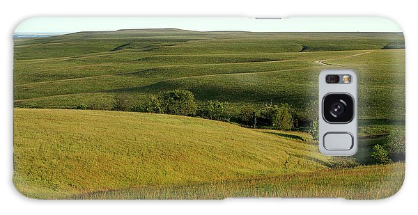 Hills Of Kansas Galaxy Case by Thomas Bomstad