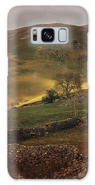 Hills Of Scotland At The Sunset Galaxy Case by Jaroslaw Blaminsky