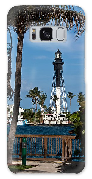 Hillsboro Inlet Lighthouse And Park Galaxy Case