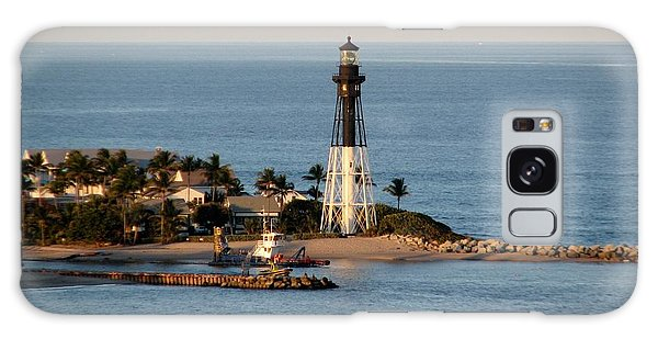 Hillsboro Lighthouse In Florida Galaxy Case