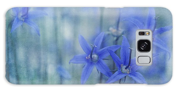 Bluebell Galaxy Case - Hillside Blues by Priska Wettstein