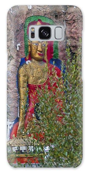 Hillside Buddha Galaxy Case by Alan Toepfer