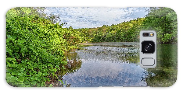 Hillside Pond Milton Massachusetts Galaxy Case