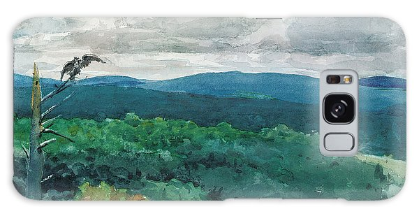 Hills Galaxy Case - Hilly Landscape by Winslow Homer