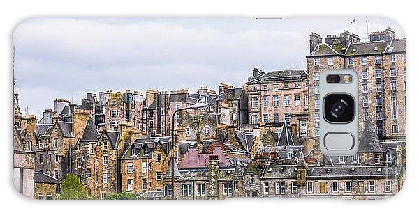 Hilly Skyline Of Edinburgh Galaxy Case