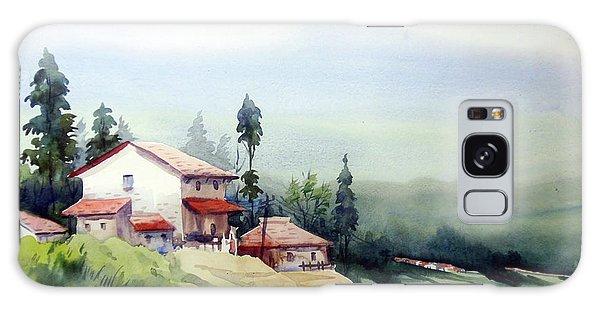 Himalaya Village Galaxy Case by Samiran Sarkar