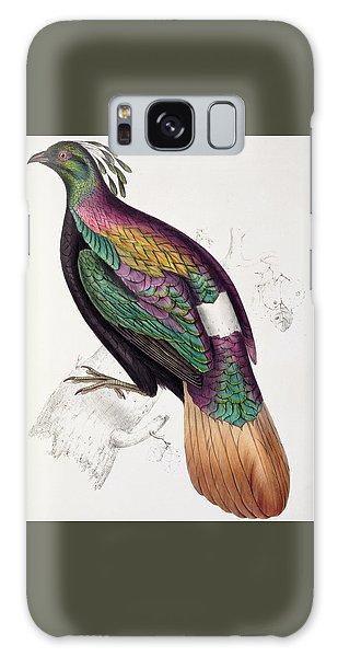 Himalayan Monal Pheasant Galaxy Case by John Gould