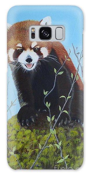 Himalayan Red Panda Galaxy Case