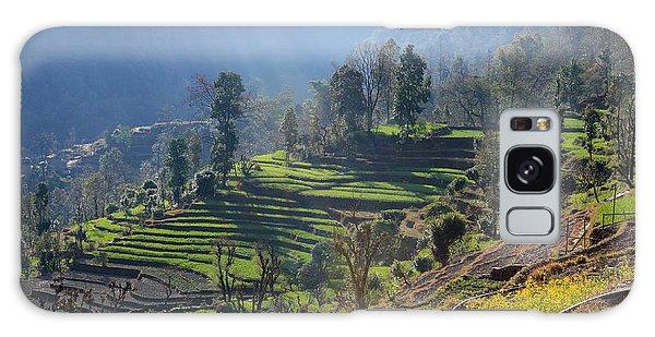 Himalayan Stepped Fields - Nepal Galaxy Case