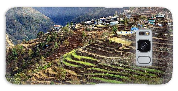 Himalayan Terraced Fields Galaxy Case