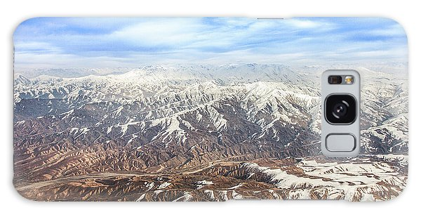Galaxy Case featuring the photograph Hindu Kush Snowy Peaks by SR Green