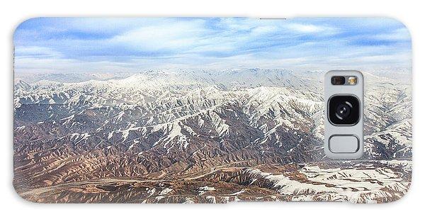 Hindu Kush Snowy Peaks Galaxy Case