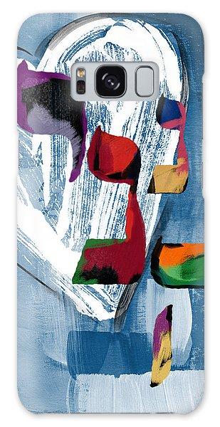 Bat Galaxy S8 Case - Hineni Heart- Art By Linda Woods by Linda Woods