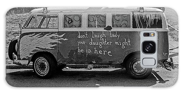 Galaxy Case featuring the photograph Hippie Van, San Francisco 1970's by Frank DiMarco
