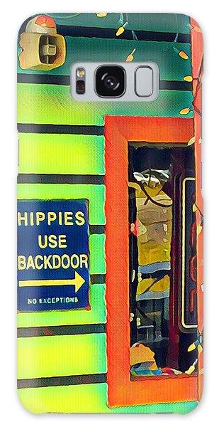 Hippies Use Backdoor Galaxy Case
