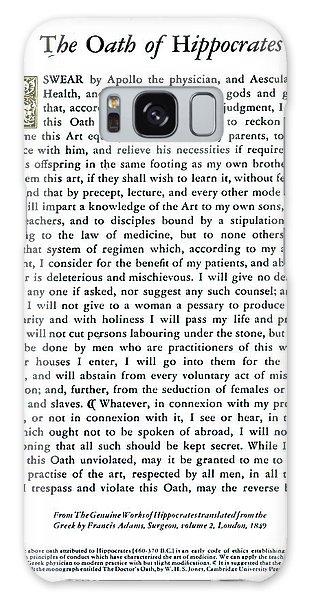Hippocratic Oath, 1938 Galaxy Case