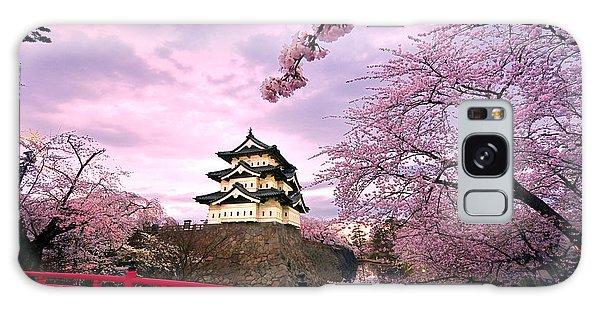 Hirosaki Castle Japan Galaxy Case