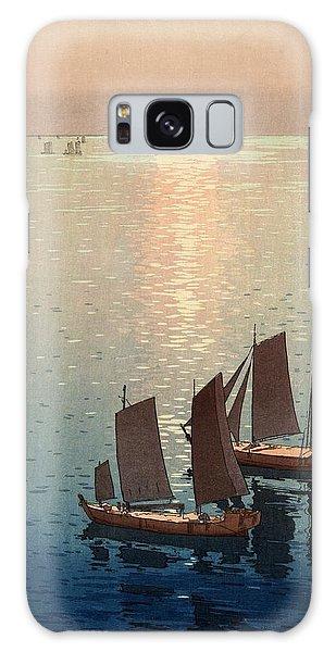 Hiroshi Yoshida, Hikaru Umi, The Sparkling Sea, 1926 Galaxy Case