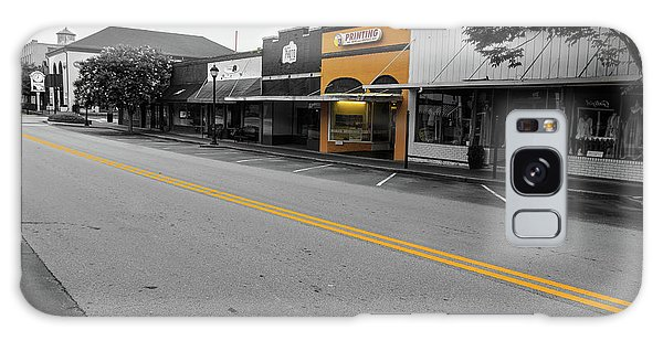 Galaxy Case featuring the photograph Historic Buford In Selective Color by Doug Camara