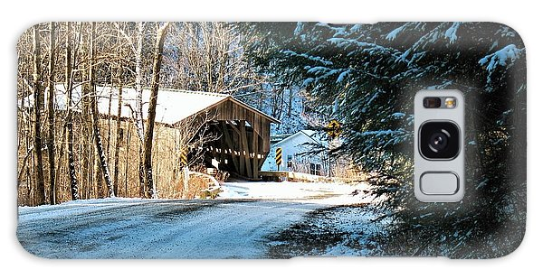 Historic Grist Mill Covered Bridge Galaxy Case