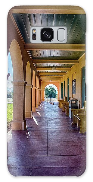 Historic Kelso Depot Galaxy Case