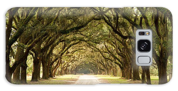 Historic Live Oak Trees Galaxy Case by Lamarre Labadie
