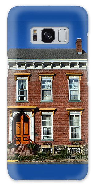 Historic Madison Row House Galaxy Case
