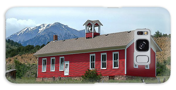 Historic Maysville School In Colorado Galaxy Case