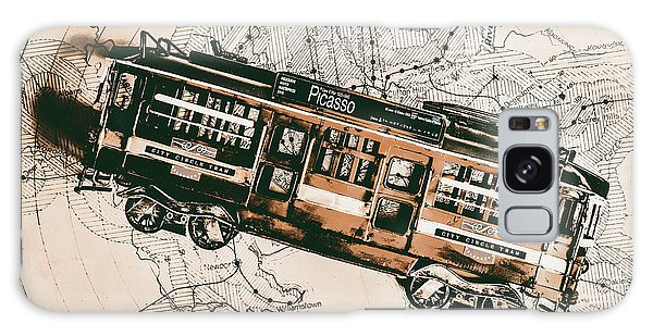 Victoria Galaxy Case - Historic Melbourne Tram Adventure by Jorgo Photography - Wall Art Gallery