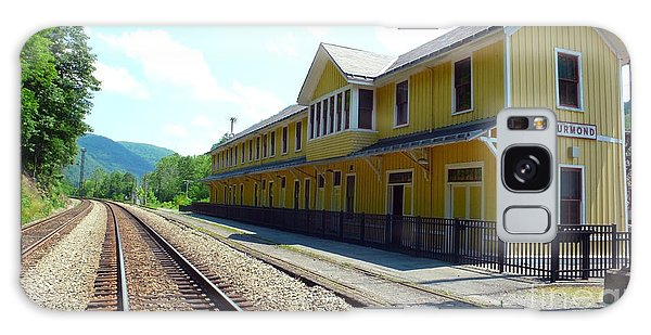 Historic Passenger Train Depot Thurmond West Virginia Galaxy Case