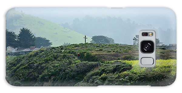 Historic Portola Cross In Carmel Galaxy Case
