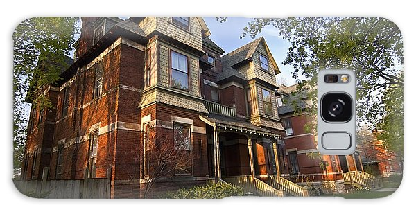 Historic Pullman House In Chicago Galaxy Case