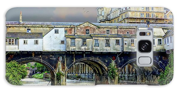 Historic Pulteney Bridge Galaxy Case