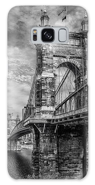 Historic Roebling Bridge Galaxy Case by Diana Boyd