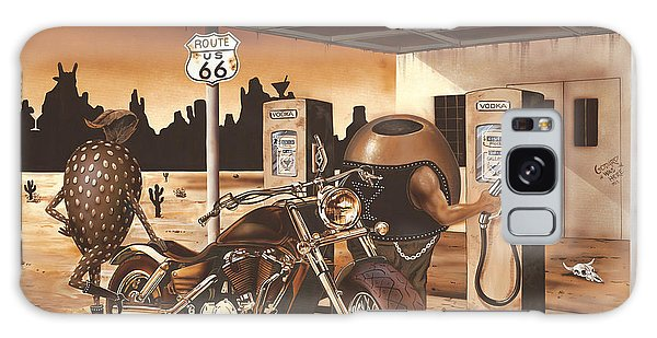 Strawberry Galaxy Case - Historic Route 66 by Michael Godard