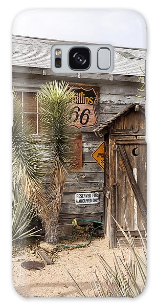 Historic Route 66 - Outhouse 1 Galaxy Case