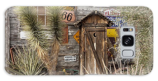 Historic Route 66 - Outhouse 2 Galaxy Case