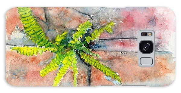 Historic Savannah Wall Weed Galaxy Case by Doris Blessington