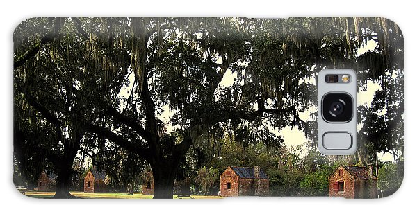 Historic Slave Houses At Boone Hall Plantation In Sc Galaxy Case