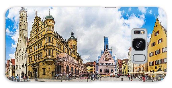 Historic Townsquare Of Rothenburg Ob Der Tauber, Franconia, Bava Galaxy Case
