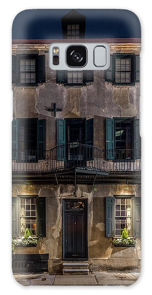 Historic William Vanderhorst House, Charleston Galaxy Case by Carl Amoth