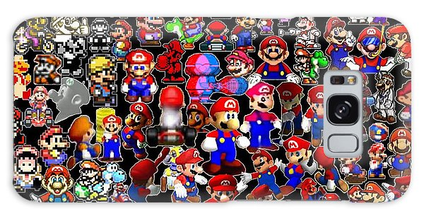 History Of Mario Mosaic Galaxy Case by Paul Van Scott