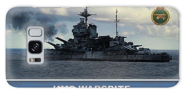 Hms Warspite Galaxy Case by John Wills
