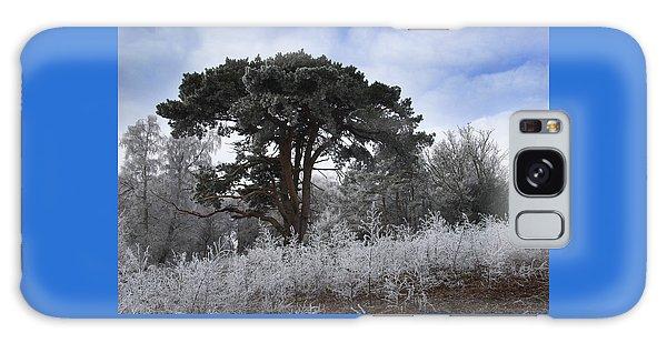 Hoar Frost Galaxy Case